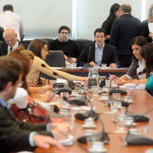 La comisión de Presupuesto y Hacienda de la Cámara de Diputados.