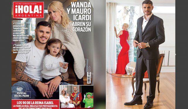 Una foto de Wanda con un estrecho vestido alienta el rumor de un bebé en camino