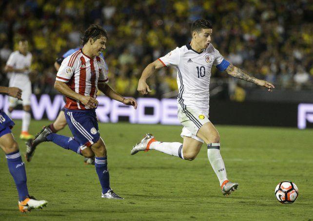Manija. James Rodríguez será la fuente de generación de fútbol cafetera.