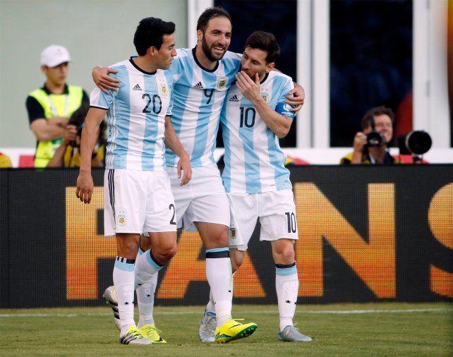 Gaitán fue amonestado y se perdería una eventual semifinal de la Copa América.