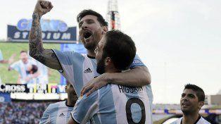 Con el alma. Messi y el Pipa Higuaín