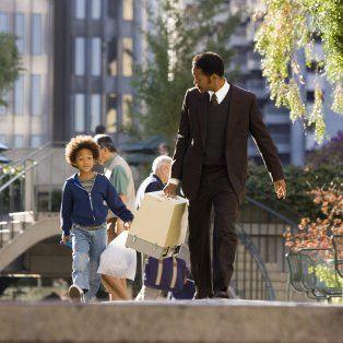 En busca de la felicidad, film protagonizado por Will Smith y su hijo Jaden.