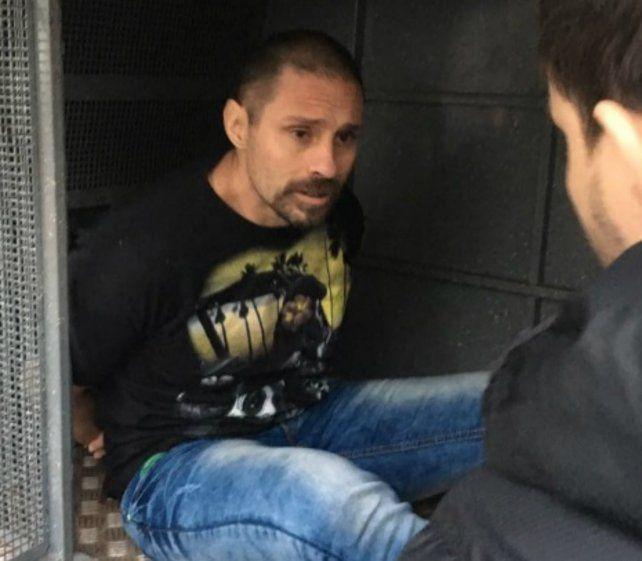 Las fotos de Pérez Corradi, arrestado esta mañana en Paraguay