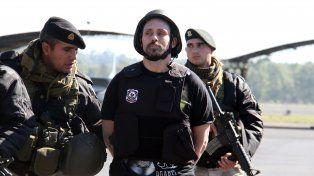 Pérez Corradi fue detenido donde todos sabían que estaba, en la zona de la Triple Frontera, dijo Ocaña.