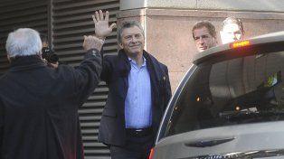Macri fue operado con éxito de la lesión en la rodilla y retoma la actividad