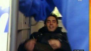 Matías Alé sufrió una nueva crisis nerviosa y tuvo que intervenir la policía para controlarlo
