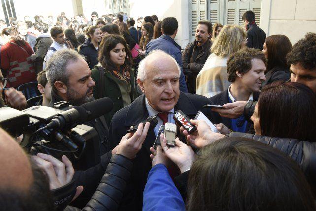 El gobernador Miguel Lifsthitz se mostró optimista sobre la perspectiva económcia de Santa Fe.