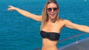 La modelo disfruta del verano en Europa.