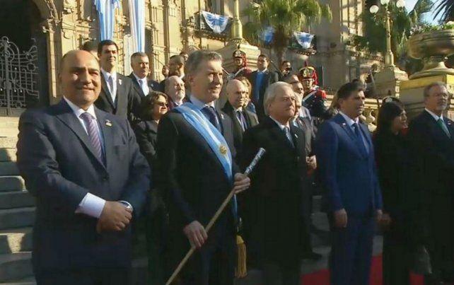 Día soleado en Tucumán para la celebración del Bicentenario.