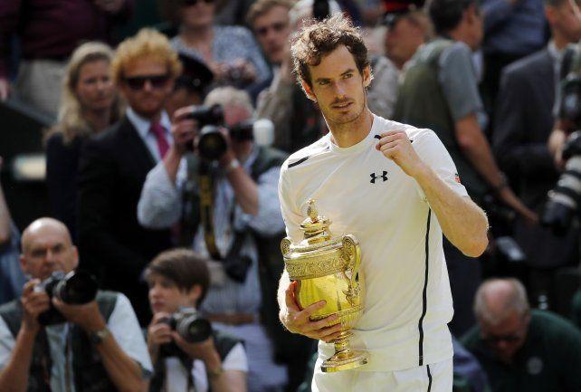 Andy Murray ganó su segundo título en Wimbledon al vencer a Raonic