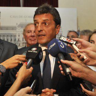 El líder del Frente Renovador, Sergio Massa, le reclamó profesionalismo a los funcionarios del gobierno de Mauricio Macri.
