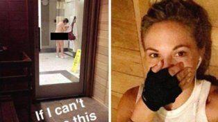 Una modelo tuvo que desaparecer del mapa virtual tras burlarse de una mujer en el gimnasio