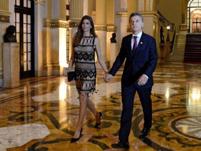 Mauricio Macri y Juliana Awada asistieron a la cena de gala que dio el saliente presidente de Perú