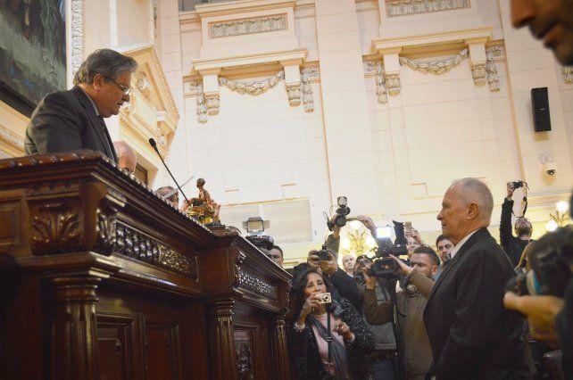 Lamberto asumió como Defensor del Pueblo con la vocación de proteger derechos fundamentales