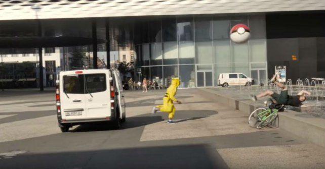 Los vengadores de Pokémon Go.