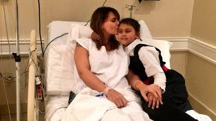 Internaron a Amalia Granata y aclaró que su bebé está en perfecto estado