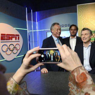 El presidente de la Nación, Mauricio Macri, en los Juegos Olímpicos de Río de Janeiro.