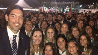 Así vivieron los deportistas argentinos la ceremonia de inauguración en Río