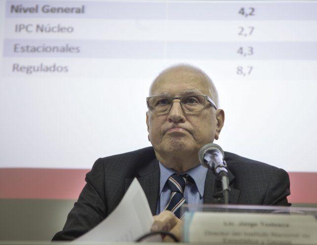Precios. El organismo estadístico que conduce Jorge Todesca informó el IPC correspondiente al mes de julio.