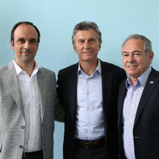 José Corral, Mauricio Macri, y Mario Barletta, una banda que cada día suena mejor.