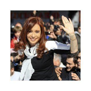 La expresidenta de la Nación Cristina Fernández de Kirchner.