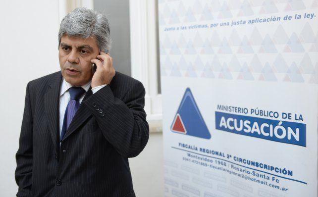 El fiscal regional Jorge Baclini.