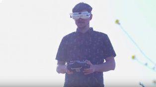 Así entrena uno de los mejores pilotos de drones del mundo