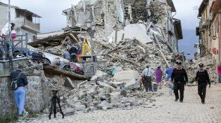 Las estremecedoras imágenes del sismo que sacudió a Italia