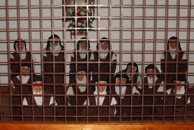 Una imagen de las Carmelitas Descalzas de Nogoyá.