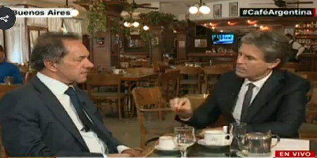 Scioli aseguró que si hubiera ganado las elecciones la gente estaría mejor