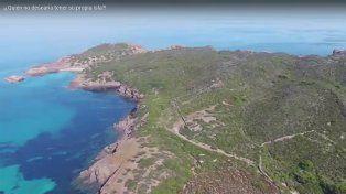 Una isla paradisíaca del mediterráneo se puso a la venta