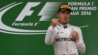 Nico Rosberg se impuso en Monza.