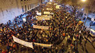 Rosario: así se vivió la convocatoria de la marcha contra la inseguridad
