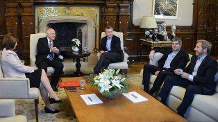 Lifschitz está reunido con el presidente Macri para definir el regreso de Gendarmería