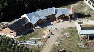 La mansión que estaba construyendo la familia Cantero