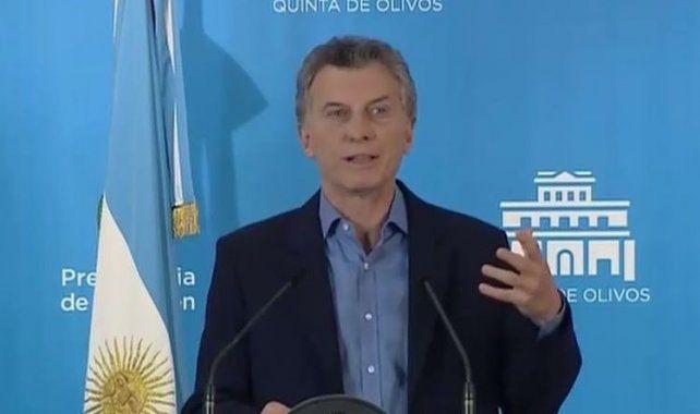 El presidente de la Nación brindó una conferencia de prensa luego de la publicación del índice de pobreza.