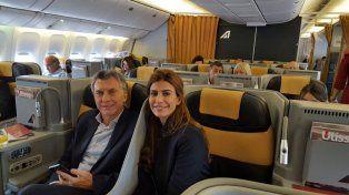 El presidente Mauricio Macri viajó a Roma para reunirse con el Papa Francisco.