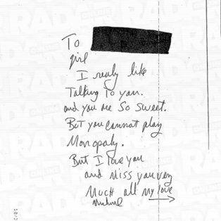 una mujer mostro cartas que michael jackson le habria mandado cuando ella era menor