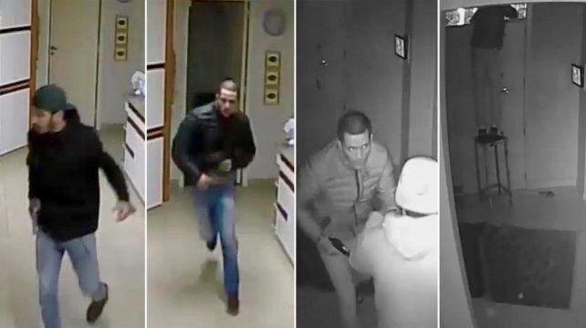 Un video de las cámaras de seguridad muestra como escapan los asesinos del gerente de la editorial Sigmar