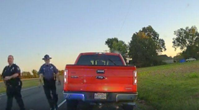Perseguia un auto por exceso de velocidad y se llevó una sorpresa al identificar al conductor