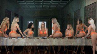 La foto que disparó la polémica en Brasil.