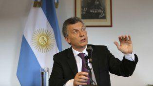 El presidente Mauricio Macri se comunicó vía telefónica con Donald Trump.
