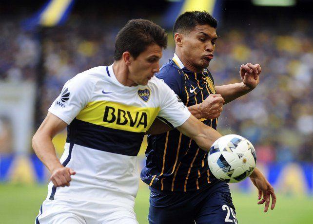 Teo Gutiérrez marcó su primer gol en Central y vio la roja por su polémico festejo