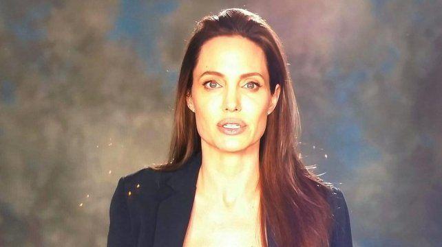 Angelina Jolie reapareció desmejorada en un video a dos meses de separarse de Brad Pitt