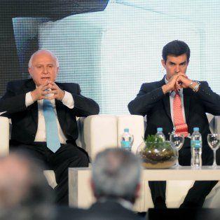 Lifschitz expuso junto a Juan Manuel Urtubey, gobernador de Salta, en la Conferencia Industrial Argentina.