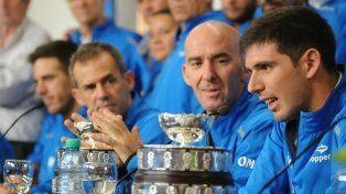 Macri recibió en la Casa Rosada al equipo argentino que se coronó campeón de la Copa Davis