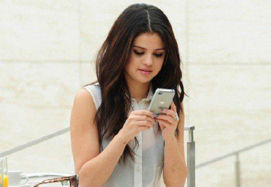 Selena Gómez probó cómo es vivir 90 días sin usar el celular