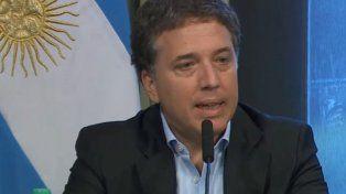 El ministro de Hacienda Nicolás Dujovne