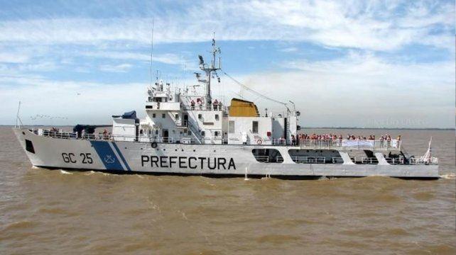 El barco fue secuestrado con más de 7 toneladas de marihuana en su interior.