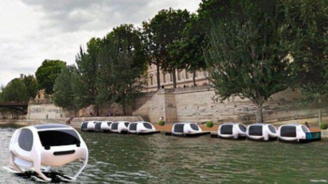 Así se verían los novedosos taxis.